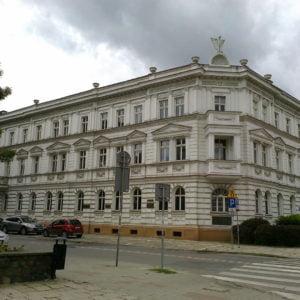 Dom Polski wOlsztynie –wokresie międzywojennym siedziba m.in.Banku Ludowego ipolskiej szkoły