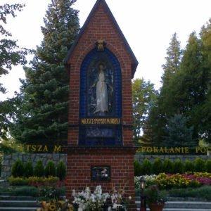 Gietrzwałd –kapliczka wmiejscu objawień Matki Bożej