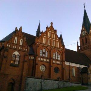 Kościół –sanktuarium maryjne wGietrzwałdzie