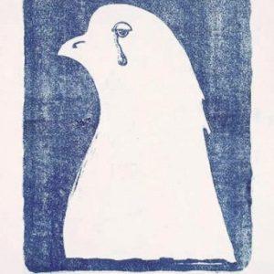 Płaczący gołąbek pokoju