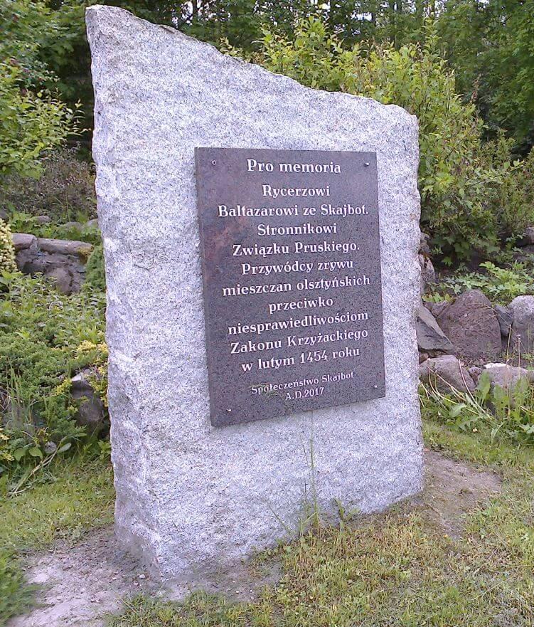 Skajboty obelisk rycerza Baltazara