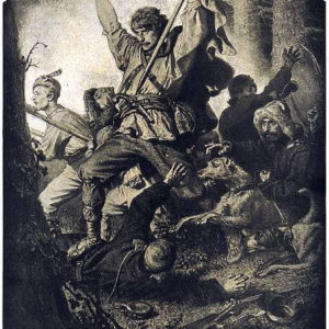 "Artur Grottger ""Bój"" (zcyklu pt.""Lithuania"")"