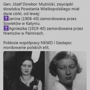Córki Józefa Dowbór-Muśnickiego