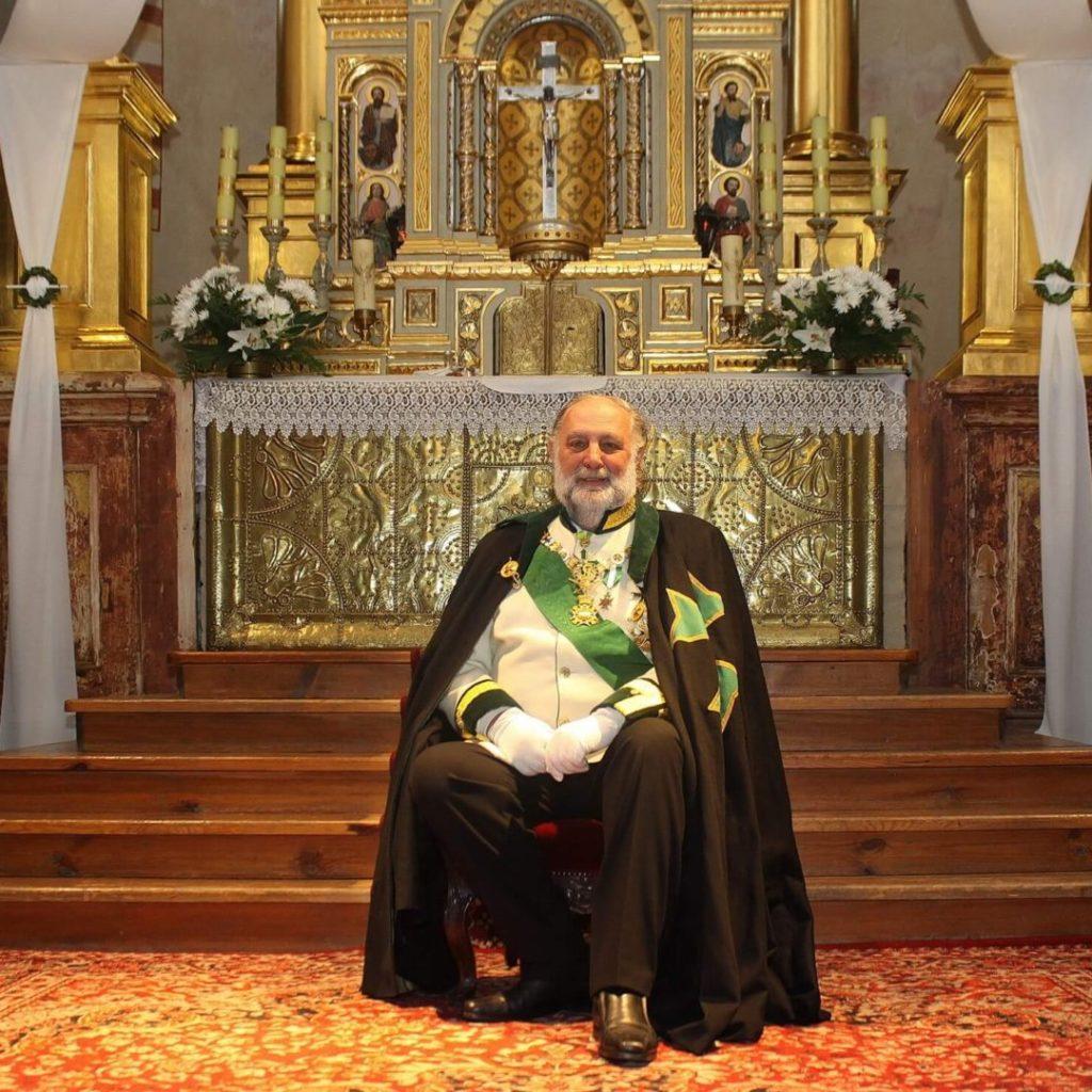 Portret Jana Dobrzenskiego wykonany podczas jego pobytu wPolsce przezJ.Pijarowskiego