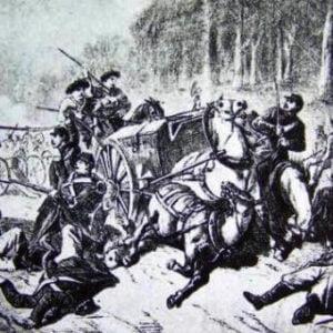 Bitwa podŻyrzynem (ilustracja prasowa z1863 roku)