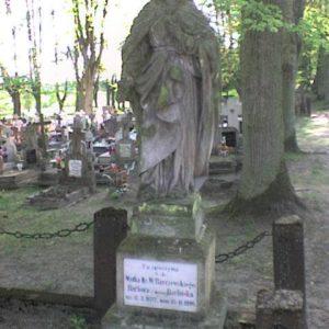 Grób matki ks.Barczewskiego