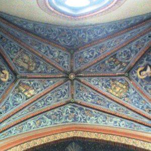 Fragment sklepienia brąswałdzkiego kościoła