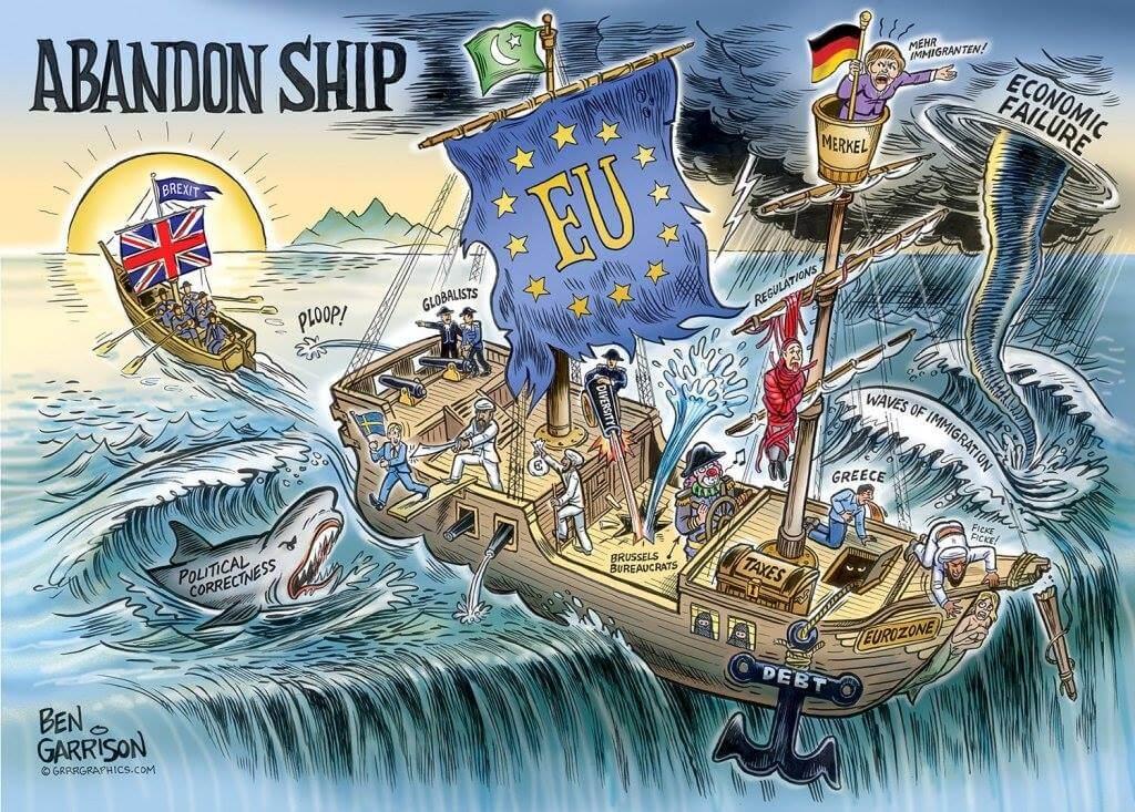 Brexit satyra