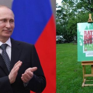 Wladimir Wladimirowicz się cieszy