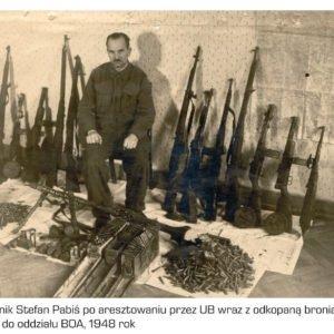Porucznik Stefan Pabiś. Rok 1948.