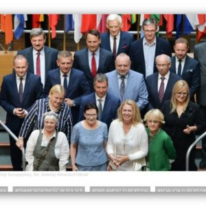 Europosłowie Koalicji Europejskiej