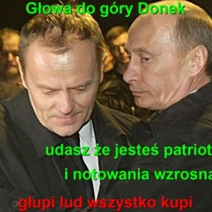 Putin iTusk