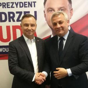 Wygrana Andrzeja Dudy pomoże Olsztynowi!
