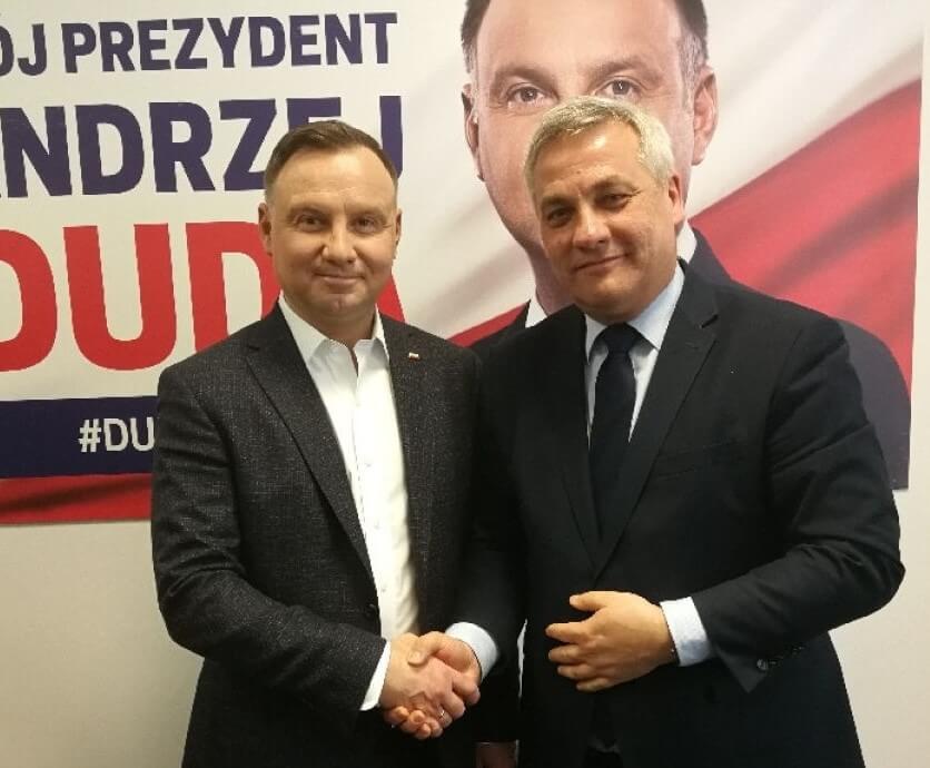 Andrzej Duda i Jerzy Szmit