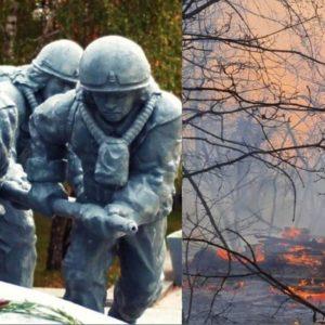 Czarnobyl znów zapłonął