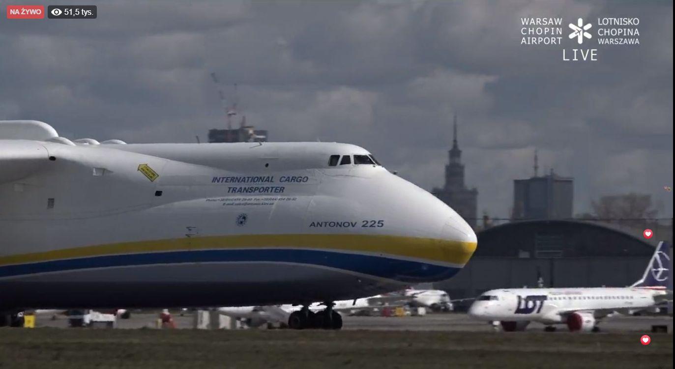Antonow wylądował