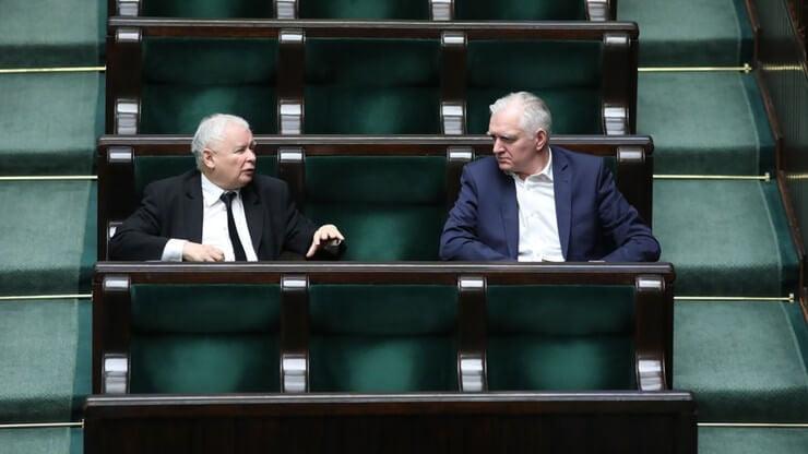 Jarosław Kaczyński iJarosław Gowin