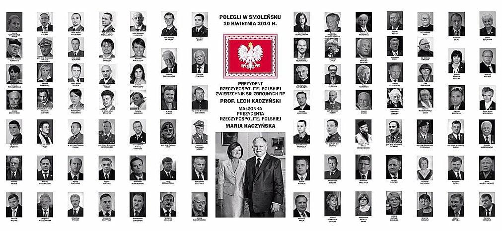 Ofiary katastrofy smoleńskiej (10 kwietnia 2010)