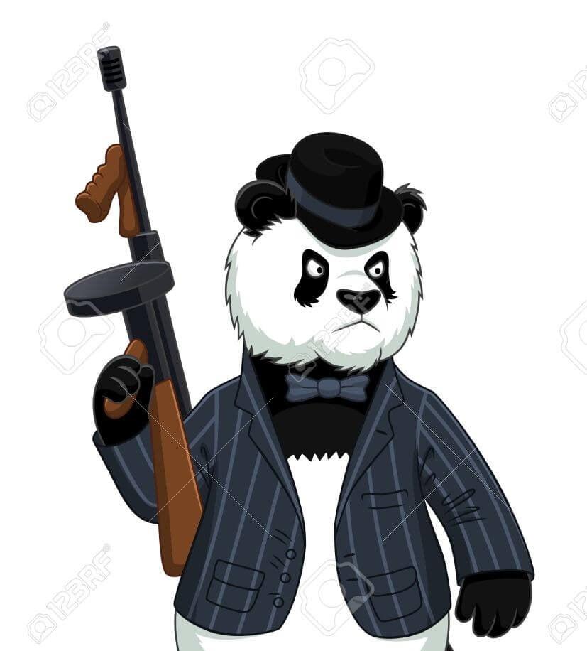 Panda mafioso