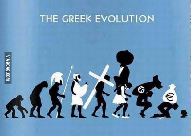 Grecka ewolucja