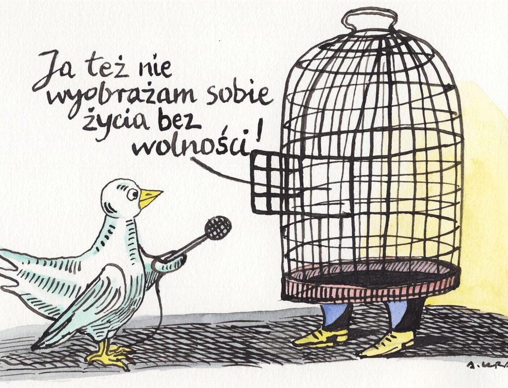 życie bezwolności -satyra