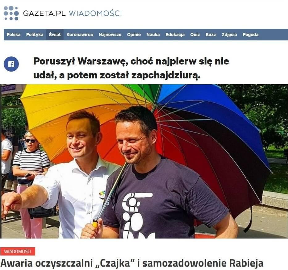 Trzaskowski iRabiej