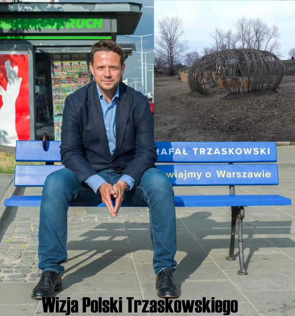 Ławeczka Trzaskowskiego