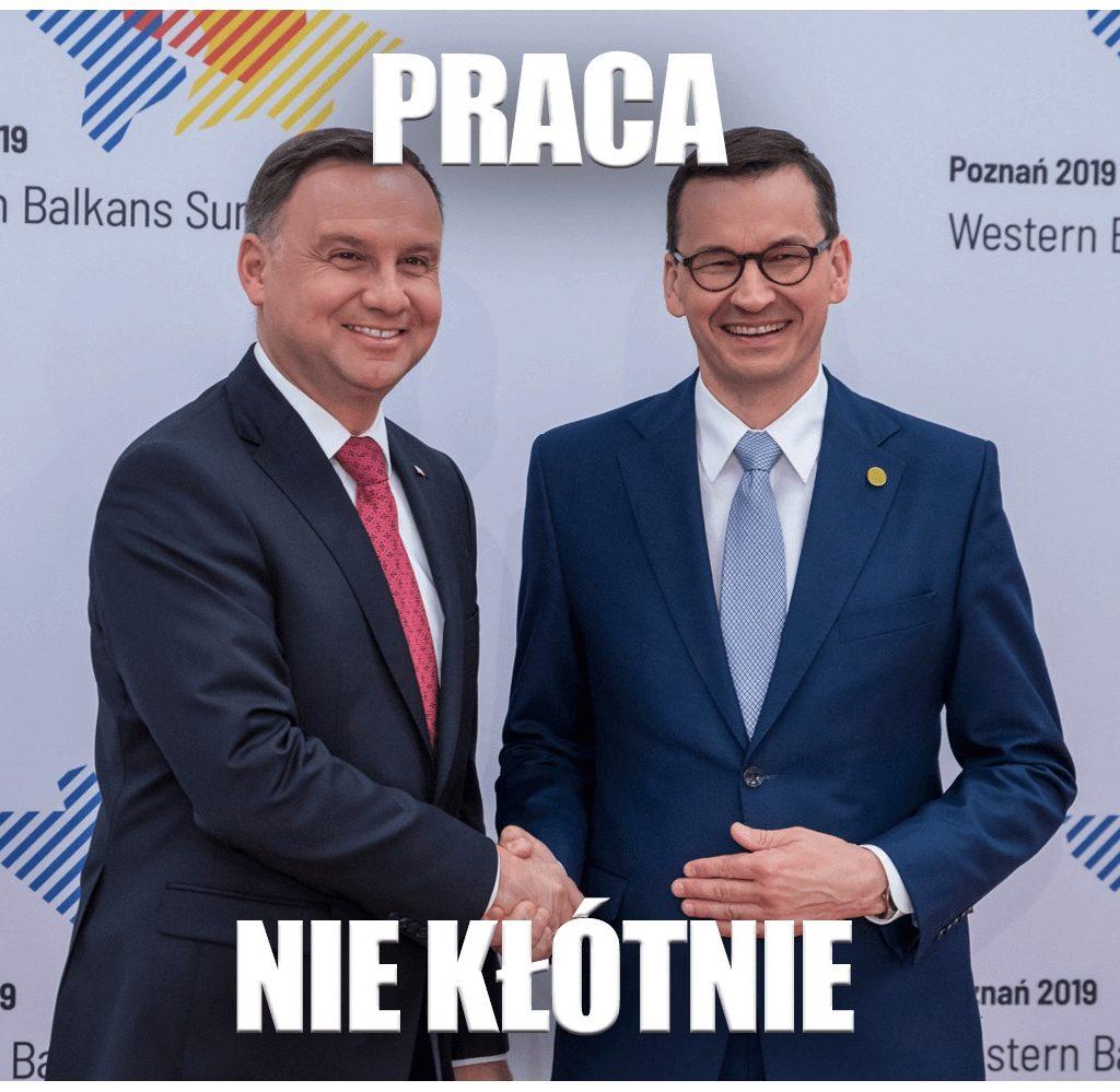Andrzej Duda -praca, niekłótnie