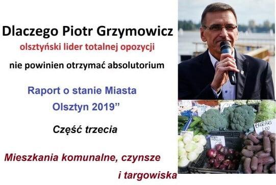 Piotr Grzymowicz - absolutorium - trzecia część