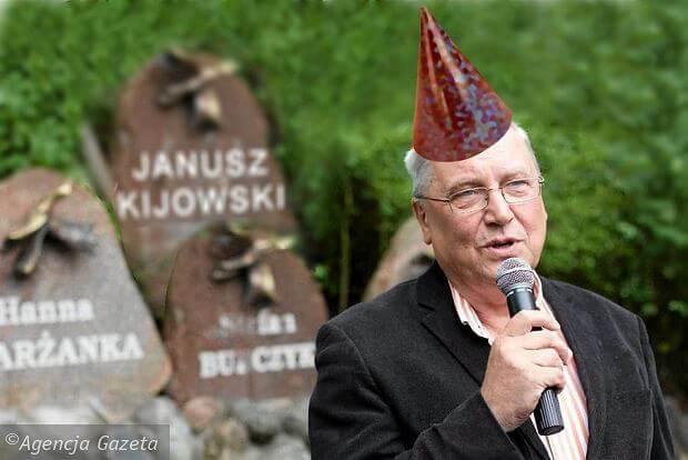 Janusz Kijowski i aleja gwiazd