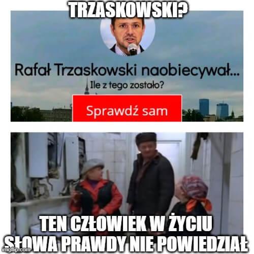 Trzaskowski iprawda