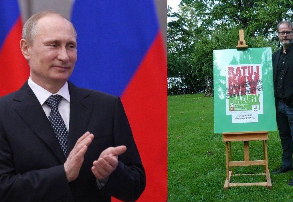 Putin popiera