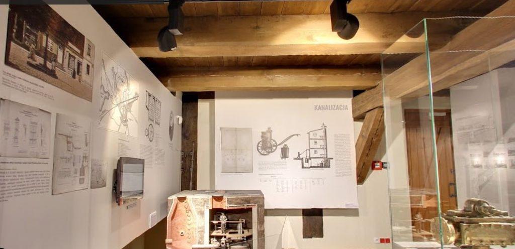 Muzeum Nowoczesności -kanalizacja