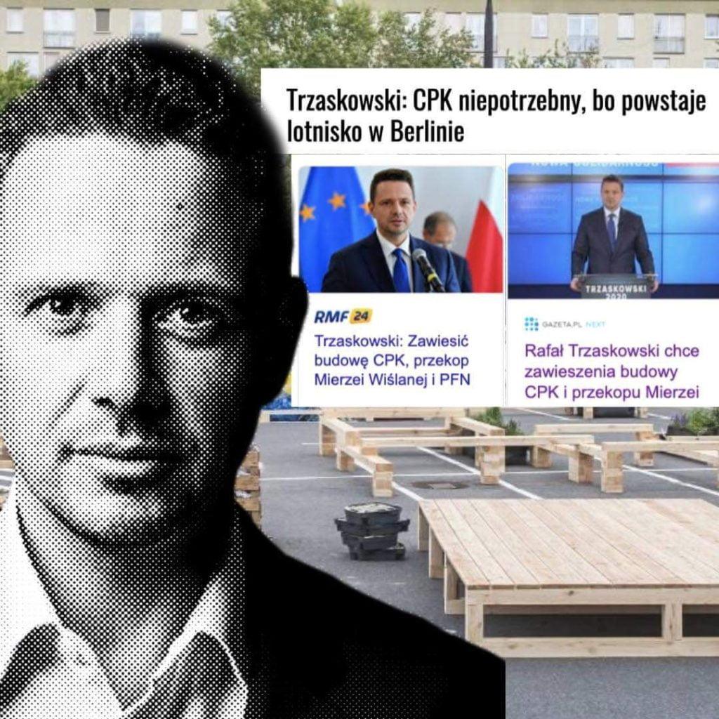 Rafał Trzaskowski blokuje inwestycje