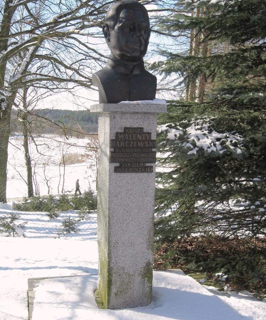 Brąswałd -Pomnik Walentego Barczewskiego