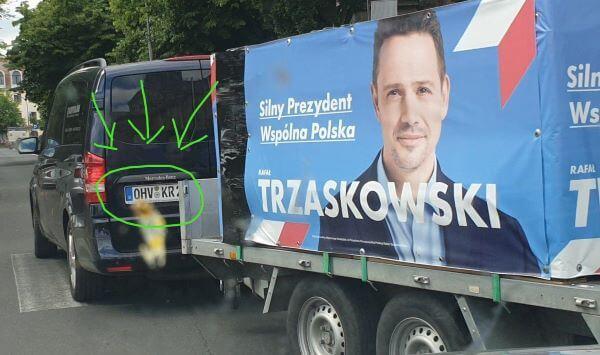Pomoc z Niemiec dla Trzaskowskiego
