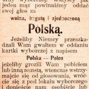 Plebiscyt na Warmii i Mazurach 1920