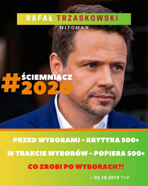 obietnice Trzaskowskiego