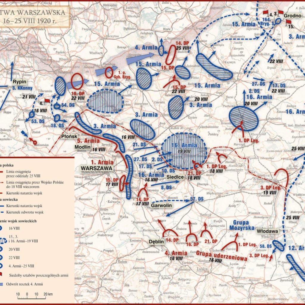Bitwa Warszawska 16-25 sierpnia