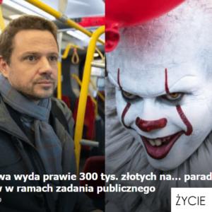 Mało obiektywny przegląd mediów –Warszawska Inwazja klaunów iolsztyńskie Przygody Pana Michała