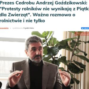 """Legenda Ardanowskiego i""""Piątka dla zwierząt"""""""