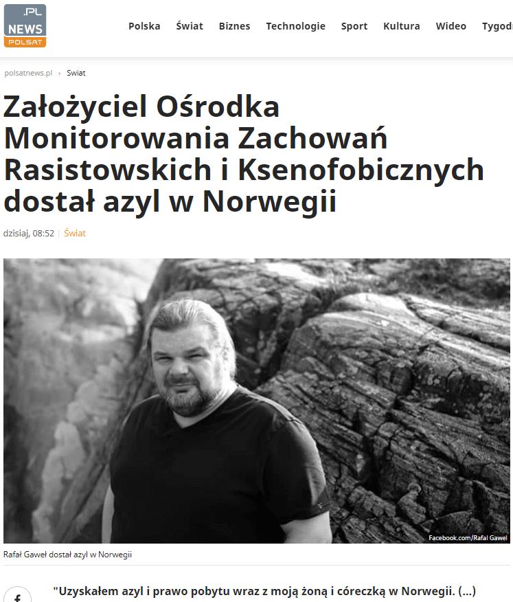 Azyl wNorwegii