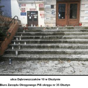 siedziba PiS Dąbrowszczaków