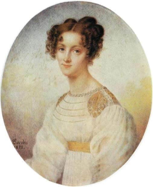 Bordes -Klaudyna zDziałyńskich Potocka (1822)