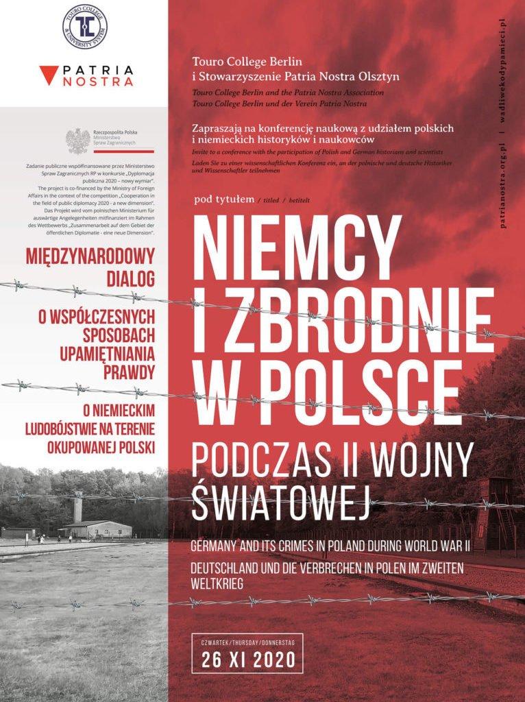 PATRIA NOSTRA A3 plakat   M 04112020 -Opinie Olsztyn (debata Olsztyn)