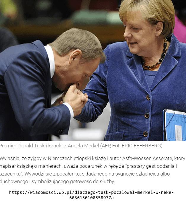 Tusk i Merkel
