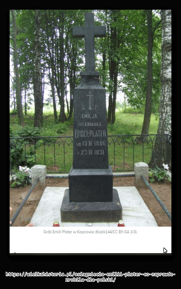Grób Emilii Plater