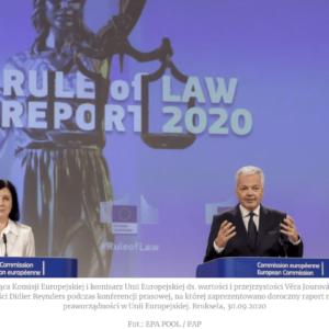 """Stowarzyszenie """"Patria Nostra"""" pyta opraworządność wUnii Europejskiej"""