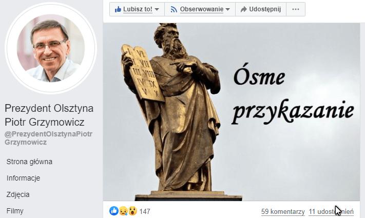 8 przykazanie wg Grzymowicza - Opinie Olsztyn (debata Olsztyn)
