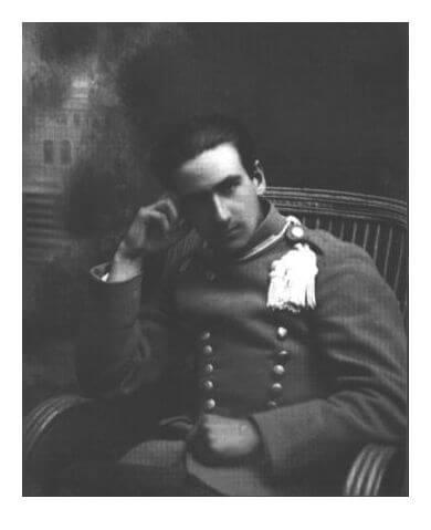Józef Mackiewicz, ułan 3. Pułku Strzelców Konnych, rok 1919